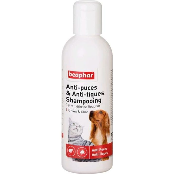 Beaphar Shampooing Antiparasitaire - Pour Chien Et Chat