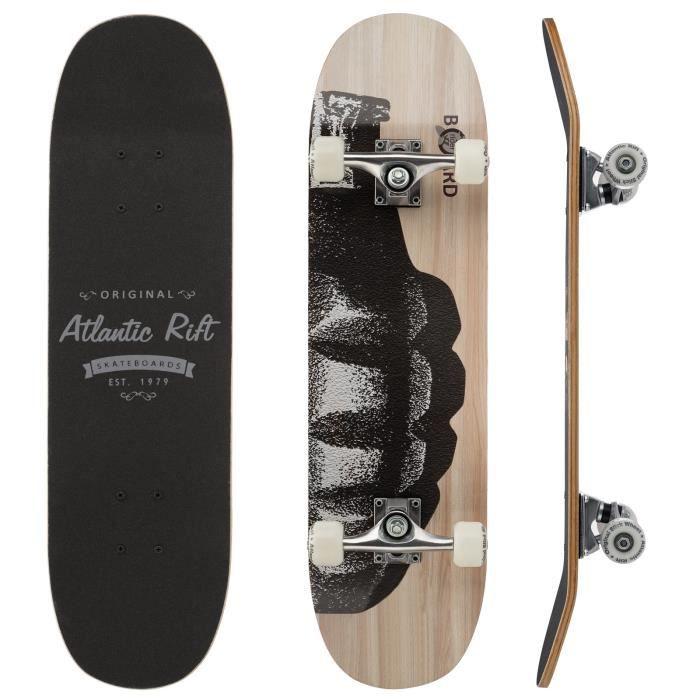 SKATEBOARD - LONGBOARD Planche à roulettes SKATEBOARD LONGBOARD- Atlantic