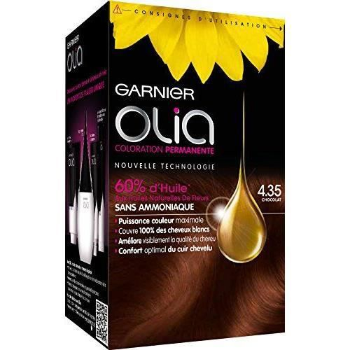 garnier olia coloration n chocolat achat vente coloration garnier olia coloration n d. Black Bedroom Furniture Sets. Home Design Ideas