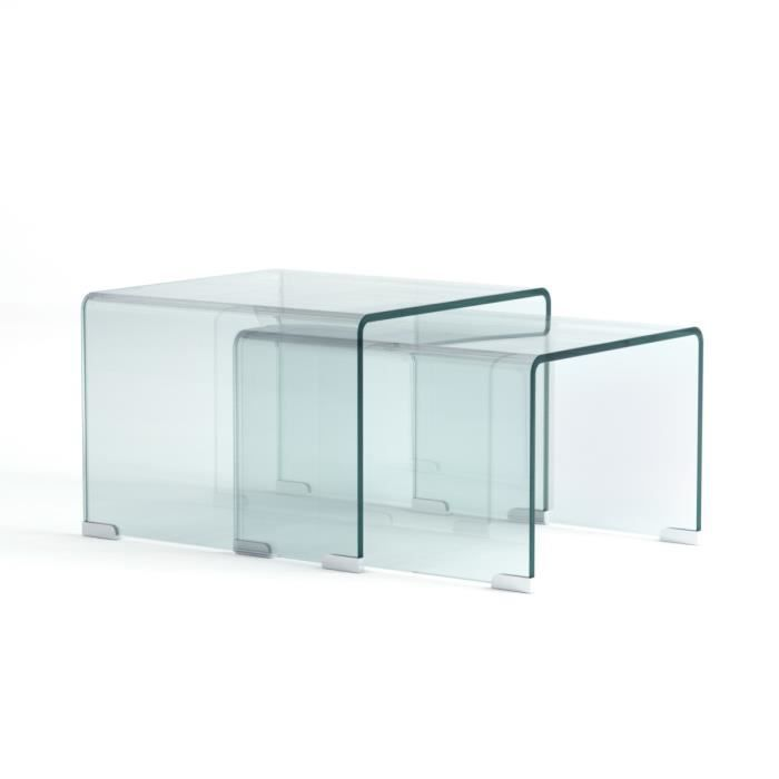 table basse gigogne plexiglas pas cher. Black Bedroom Furniture Sets. Home Design Ideas