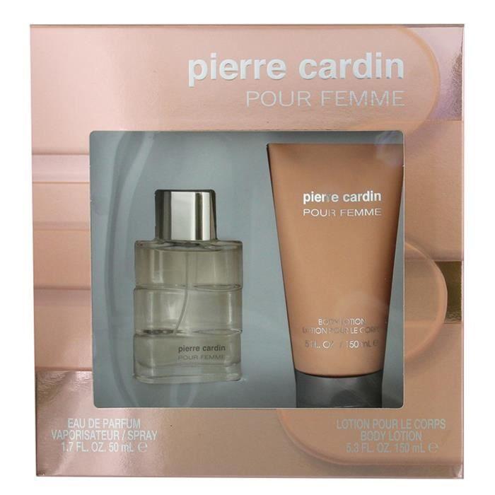 EAU DE PARFUM PIERRE CARDIN Coffret Pour Femme Eau de parfum 50
