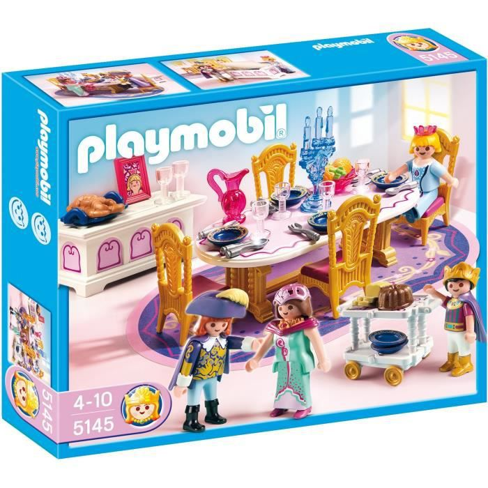univers miniature playmobil 5145 salle manger royale - Playmobil Chambres Princesses