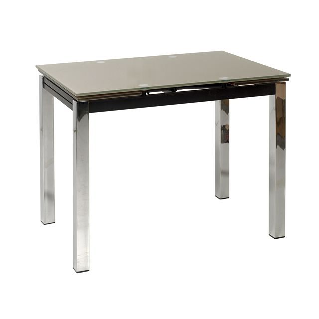 Table de cuisine 90 x 70 lisa achat vente table de for Table de cuisine en verre