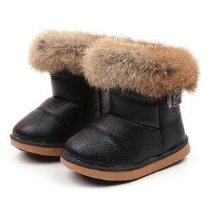 Filles-en daim synthétique-paillettes-bottes d/'hiver-bling-gris-tailles enfants 6-2