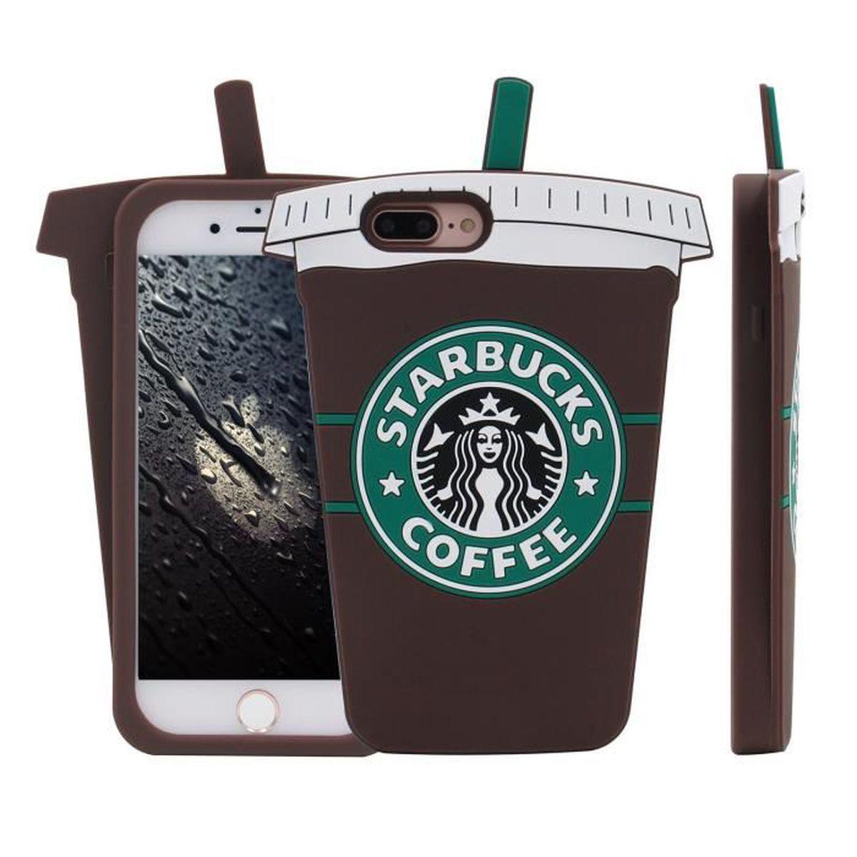 coque iphone 5 5s marron bouteille de cafe classi