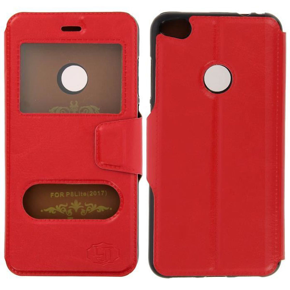 huawei p8 lite coque rouge