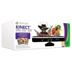 CÂBLE JEUX VIDEO Pack Kinect Xbox 360 + Gunstringer + Fruit Ninja