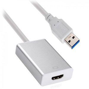 CÂBLE TV - VIDÉO - SON Chenyang USB 3.0 & 2.0 à HDMI HDTV Adaptateur Cart