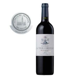 VIN ROUGE CHATEAU LA TOUR CORDOUAN - Vin Rouge AOP Medoc Bor