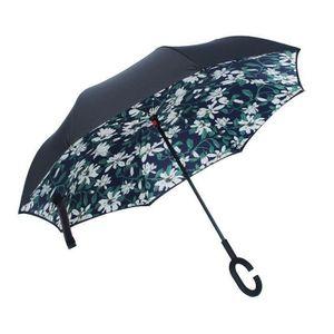 PARAPLUIE Parapluie Pliant Automatique Imprimé Inversé Doubl