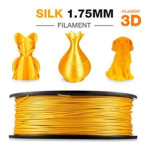 FIL POUR IMPRIMANTE 3D Filament Soie PLA 1.75mm 1kg Noulei 3d imprimante