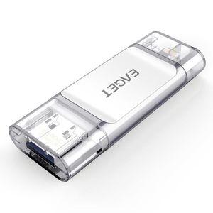 CLÉ USB 64GO OTG 8 Broches Lightning USB 3.0 Clé USB Clef