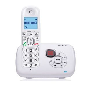 Téléphone fixe Téléphone fixe sans fil Alcatel XL385 Voice Blanc