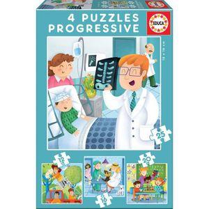 PUZZLE EDUCA PUZZLE PROGRESSIF QUAND JE SERAI GRAND (12-1