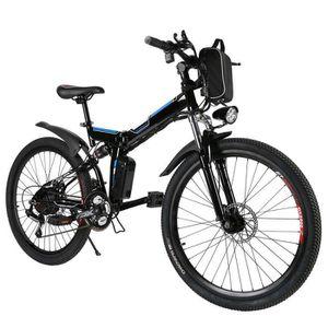 VÉLO ASSISTANCE ÉLEC Vélo électrique montagne 27 km/h 8AH/36V 250W 26 p