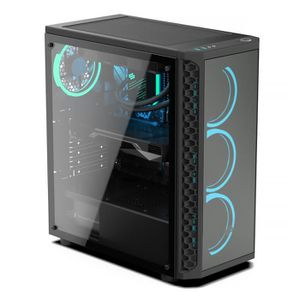 UNITÉ CENTRALE  PC Gamer, AMD Ryzen 7, RX5700, 250Go SSD, 2To HDD,