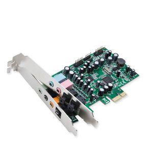 CARTE SON INTERNE SYBA SD-PEX63081, 7.1 canaux, 24 bit, 24 bits-192