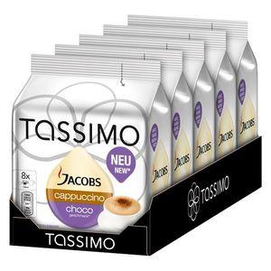 CAFÉ Tassimo Jacobs Cappuccino Choco 8 dosettes x 5 piè