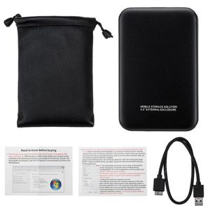 DISQUE DUR EXTERNE TEMPSA 2T Disque Dur Externe Portable USB 3.0 Stoc