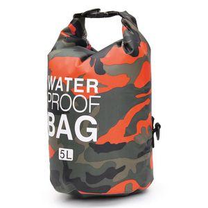 BIDON - SAC ÉTANCHE T4W 5L Imperméables Dry Bag Étanche Sac Pour Activ