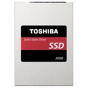 DISQUE DUR SSD TOSHIBA Disque dur interne SSD A100 - 240 Go - 2,5