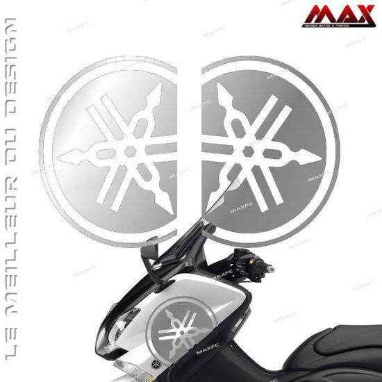 1 autocollant Diapason noir /& or 3D r/ésine 45 mm Tmax Xmax R1 R6 MT Racing
