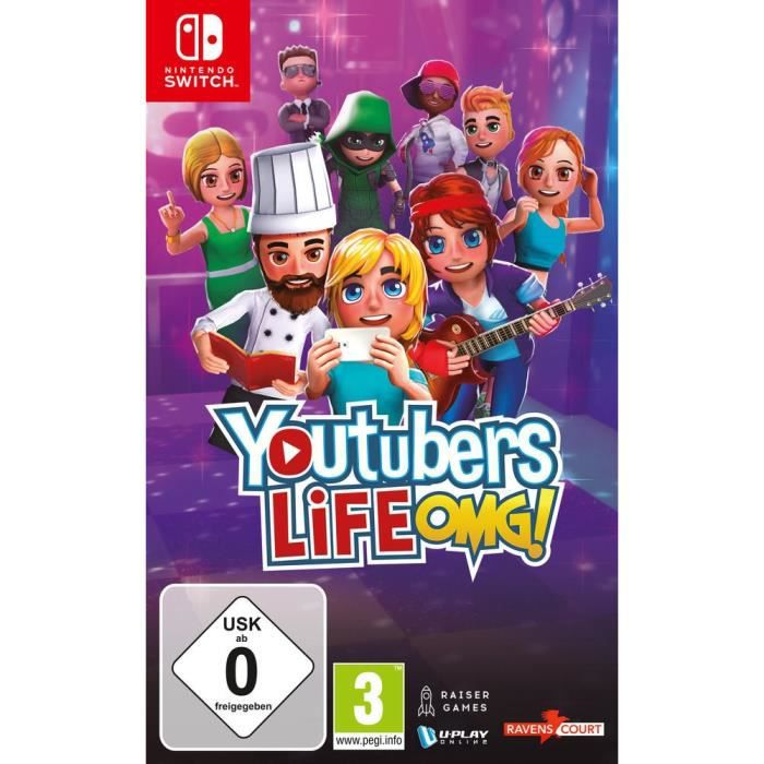 Youtubers Life OMG! Jeu Switch