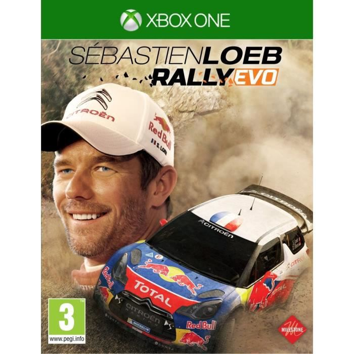 sebastien loeb rallye jeu xbox one avis test les soldes sur cdiscount cdiscount. Black Bedroom Furniture Sets. Home Design Ideas