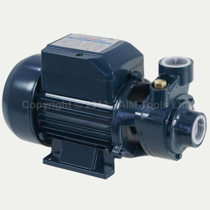 151112 Périphériques centrifuge 1-2 HP Pompe à eau pour la maison étang Jardin ferme réservoir
