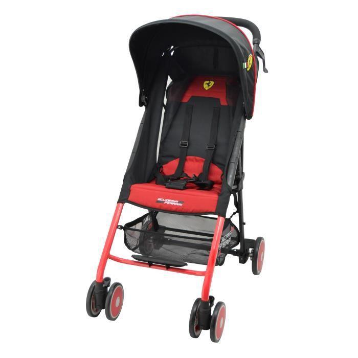 Poussette Ferrari Ultra-légère (4kg) et ultra-compacte