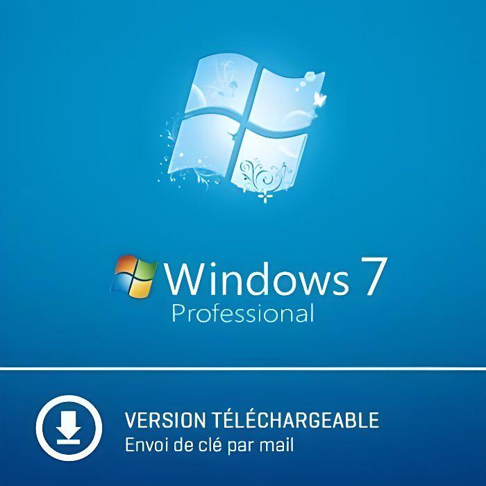 Windows 7 Pro Professionnel 32/64 bits A Télécharger