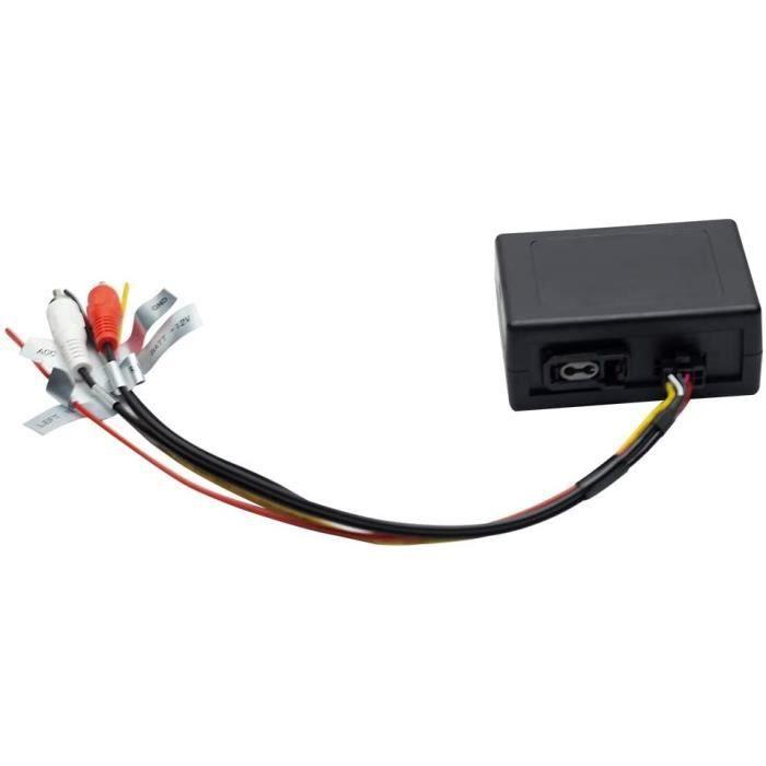 AUTORADIO JALAL D&eacutecodeur de Fibre Optique la Plupart des bo&icirctes pour autoradio Mercedes Benz s&eacuterie ML-GL-R e348