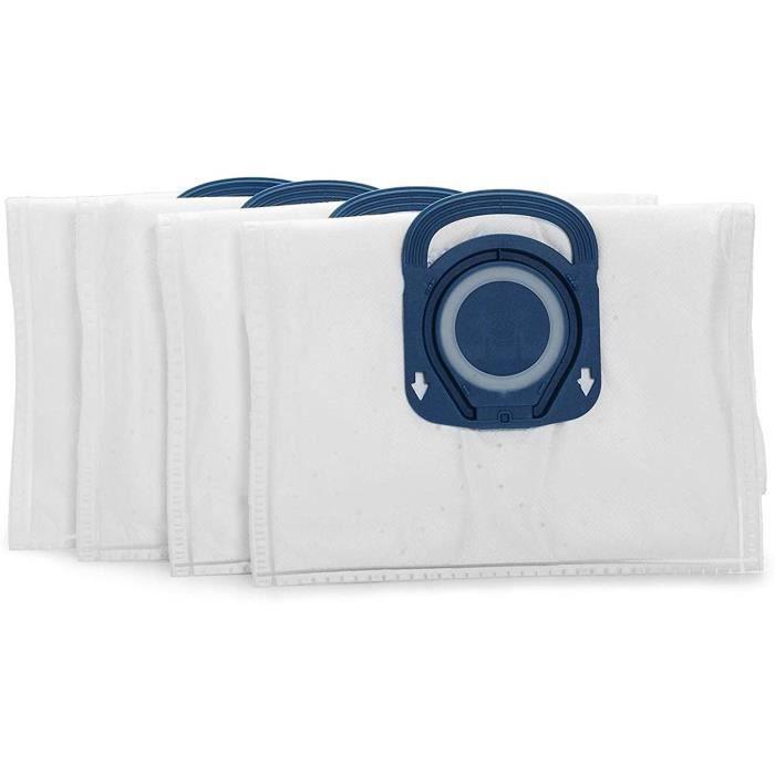 AC ASPIRATEUR Rowenta ZR200520 Sac Haute Filtration Hygiene + OPTIMAL - Blanc - Boite de 4 unit&eacutes4