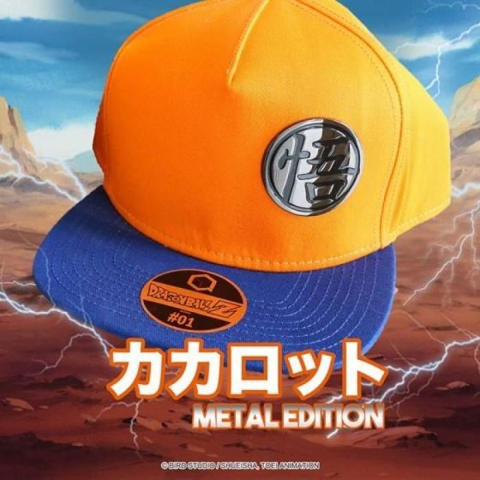 DRAGON BALL - Casquette METAL EDITION - Goku