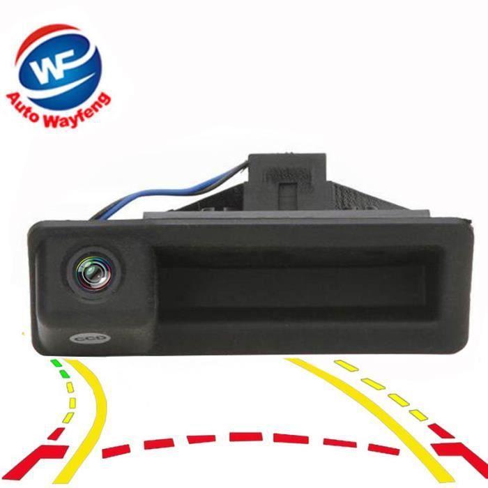 Trajectoire dynamique des voies de recul caméra pour BMW Série 3 série 5 BMW X5 X1 X6 E39 E46 E53 E82 E82 E88 E90 E91 E92 E93 E60