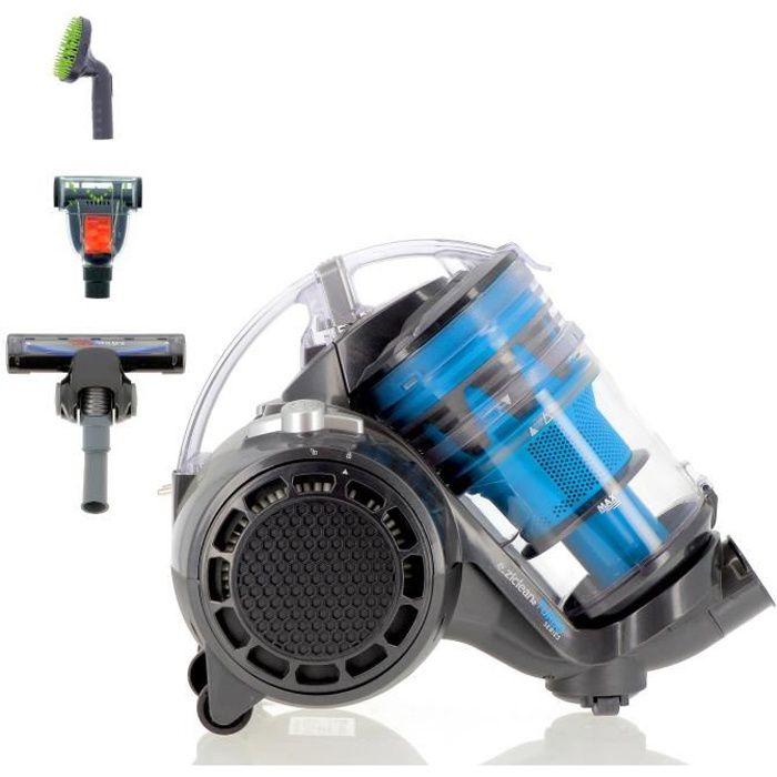 EZIclean® Turbo Multifloors, Aspirateur sans sac multi-cyclonique suréquipé