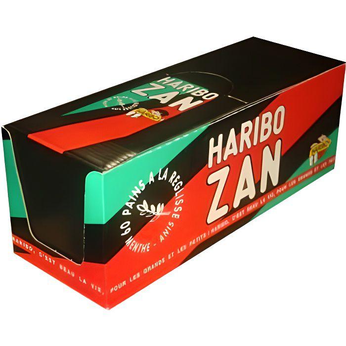 HARIBO ZAN Petits pains Menthe-Anis X 60
