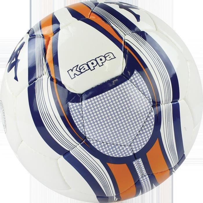 Ballon Kappa Milano - blanc-orange - Taille 5