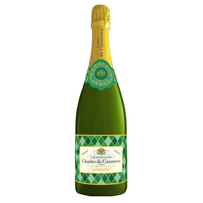 Champagne Charles de Cazanove Arlequin Demi-sec - 75 cl