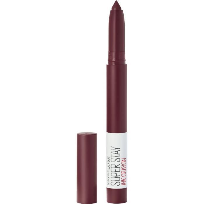 Maybelline New York - Crayon Rouge à Lèvres - Superstay Ink - Settle For More (65)