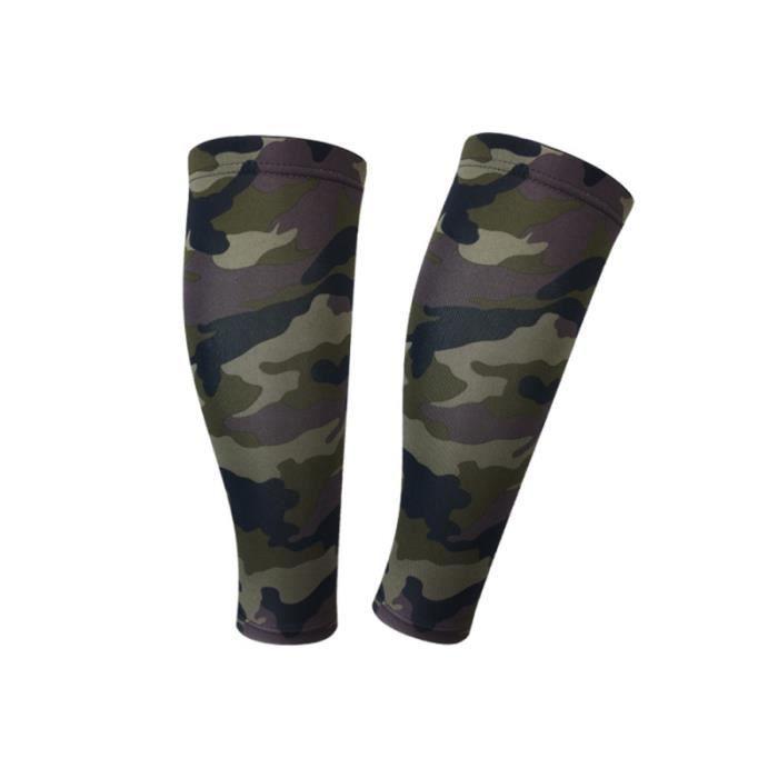 1 paire de chaussettes de compression vives chaudes au mollet pour le maintien du SHORT DE COMPRESSION - CUISSARD DE COMPRESSION