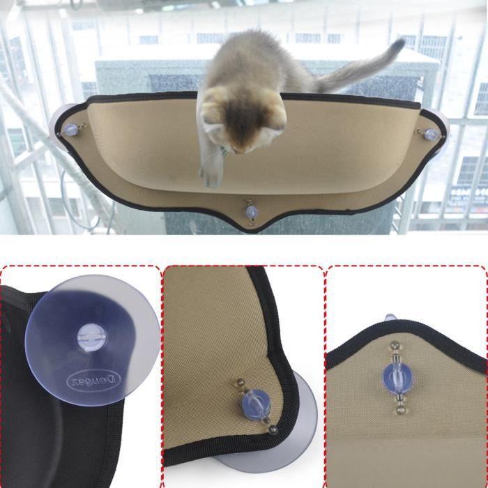 PET® Hamac Chat Perch Fenêtre Assise Chat Siège de lit