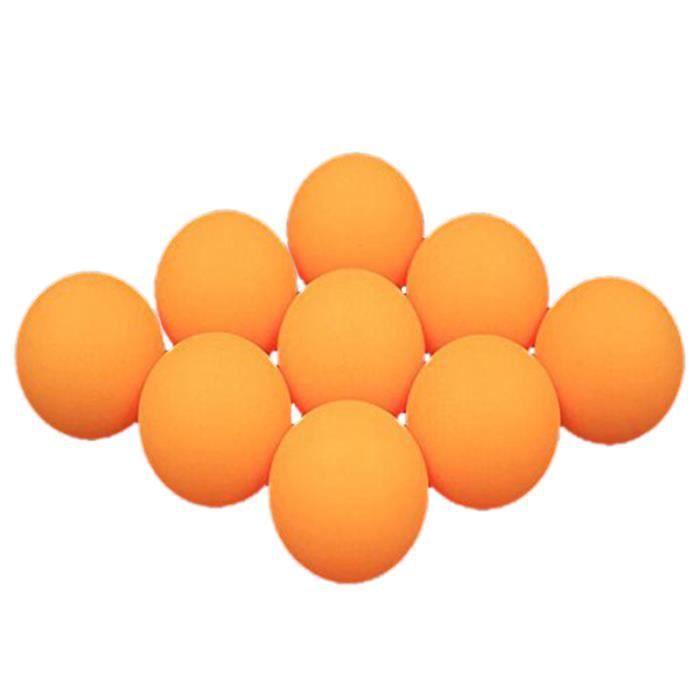 50 Balles de Tennis de Table de 40 Mm, Balles de Ping-Pong, Jaune - Blanc AléAtoire