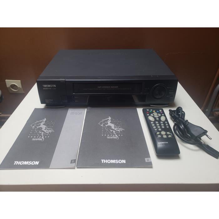 MAGNETOSCOPE THOMSON VTH 6920F LECTEUR ENREGISTREUR K7 CASSETTE VIDEO VHS 6 TETES HIFI STEREO + TEL