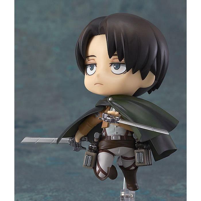 Anime Attack On Titan Levi PVC Figure Jouet poupée modèle pour collection