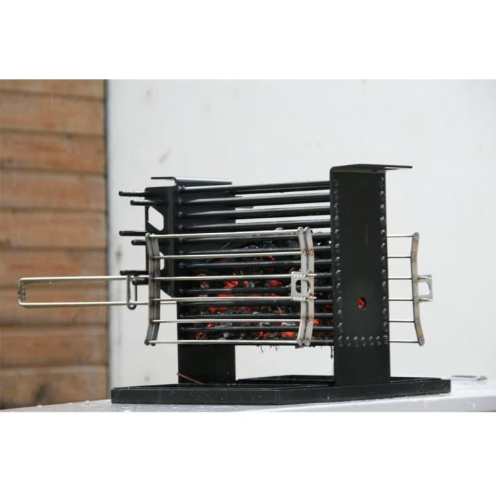 mobilier table fabriquer un barbecue vertical
