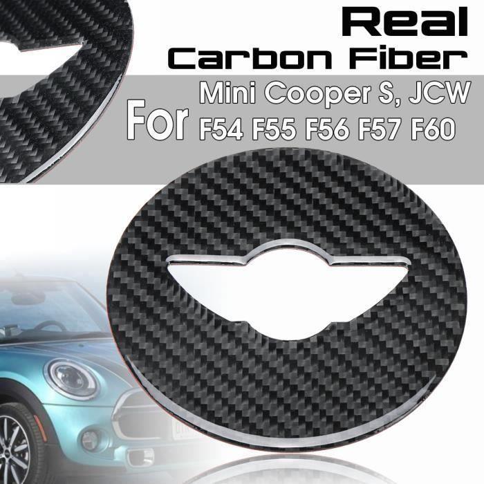 HDX Cache de Volant en Vinyle pour Mini Cooper One S JCW F54 Clubman F55 Hardtop F56 Hatchback F57 Covertible F60 Countryman