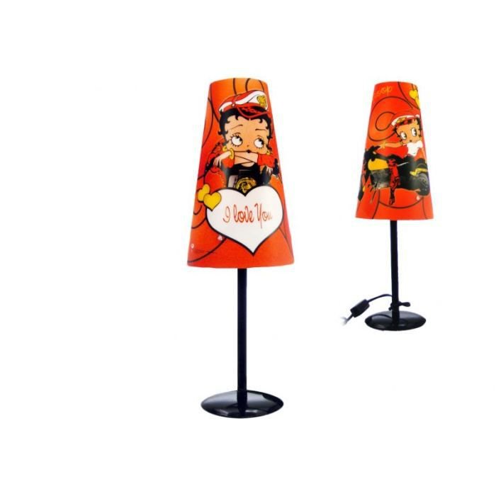 lampe betty boop moto achat vente lampe betty boop. Black Bedroom Furniture Sets. Home Design Ideas