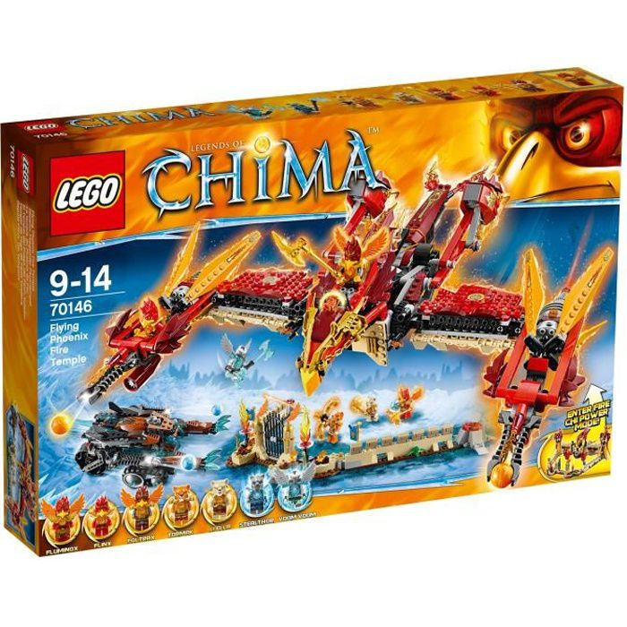 lego legends of chima achat vente pas cher cdiscount. Black Bedroom Furniture Sets. Home Design Ideas