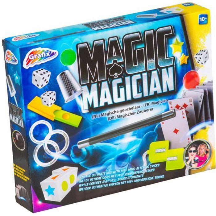 Coffret De 140 Tours De Magie Baguette Magicien Carte Jouet Enfant Cadeau Anniversaire Noel 755 Achat Vente Jeu Magie Cdiscount